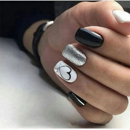 50 Nail Art Ideas for Valentines Day You Need to See 44