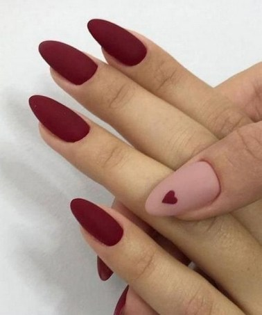 50 Nail Art Ideas for Valentines Day You Need to See 47