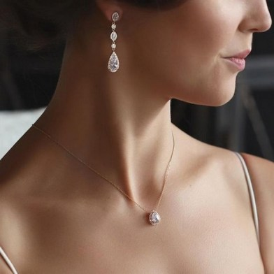 50 Stud Earring for Wedding Brides Ideas 06
