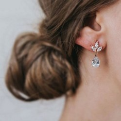 50 Stud Earring for Wedding Brides Ideas 18