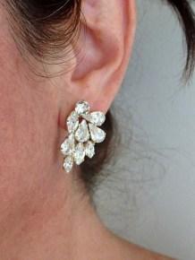 50 Stud Earring for Wedding Brides Ideas 33
