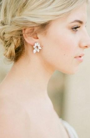 50 Stud Earring for Wedding Brides Ideas 37