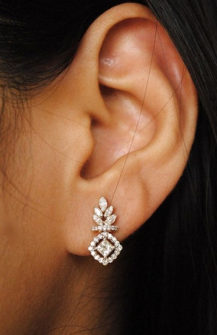 50 Stud Earring for Wedding Brides Ideas 46