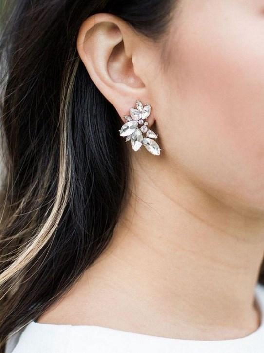 50 Stud Earring for Wedding Brides Ideas 50