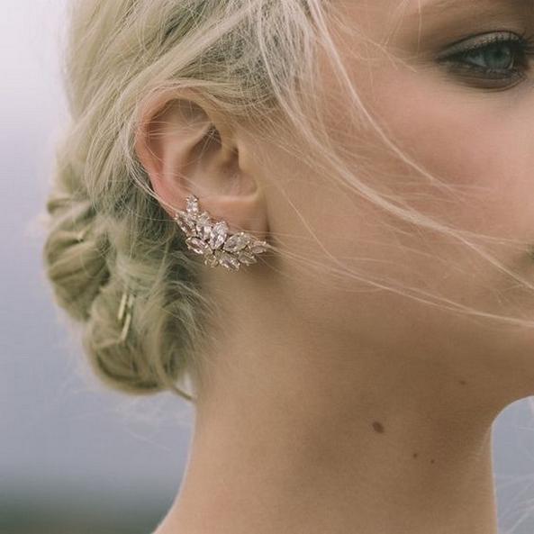 50 Stud Earring for Wedding Brides Ideas 55