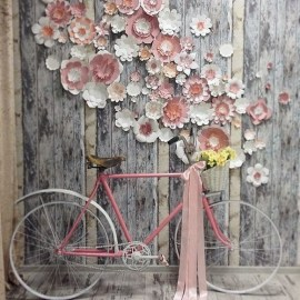 50 Stunning Paper Flower Decoration for Wedding Ideas 09