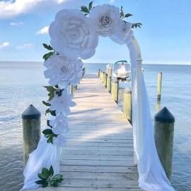 50 Stunning Paper Flower Decoration for Wedding Ideas 11