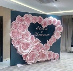 50 Stunning Paper Flower Decoration for Wedding Ideas 17
