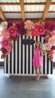 50 Stunning Paper Flower Decoration for Wedding Ideas 27