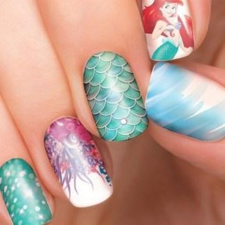 60 Disney Themed Nail Art Ideas 06
