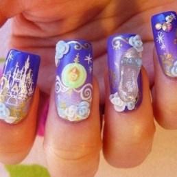 60 Disney Themed Nail Art Ideas 15