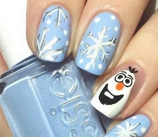 60 Disney Themed Nail Art Ideas 18