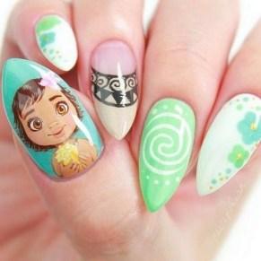 60 Disney Themed Nail Art Ideas 28
