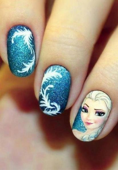 60 Disney Themed Nail Art Ideas 30