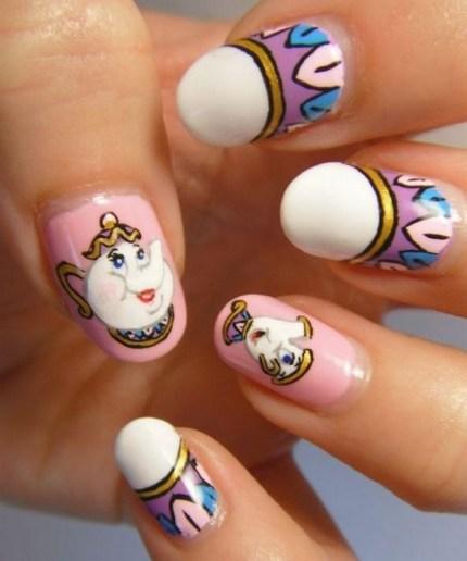 60 Disney Themed Nail Art Ideas 33