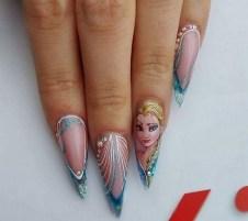 60 Disney Themed Nail Art Ideas 36