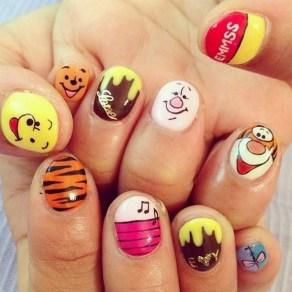 60 Disney Themed Nail Art Ideas 46