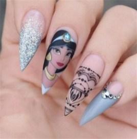 60 Disney Themed Nail Art Ideas 48