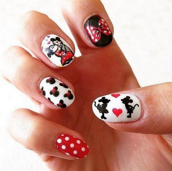 60 Disney Themed Nail Art Ideas 60