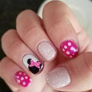 60 Disney Themed Nail Art Ideas 64