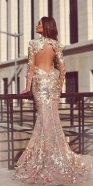 60 Gold Glam Wedding Dresses Inspiration 11