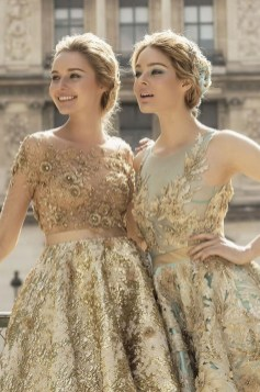 60 Gold Glam Wedding Dresses Inspiration 17
