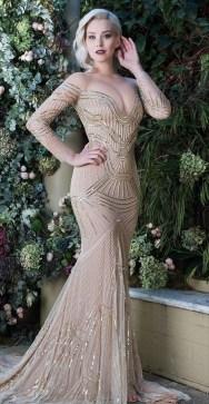 60 Gold Glam Wedding Dresses Inspiration 23