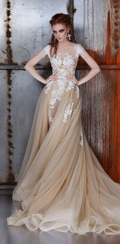60 Gold Glam Wedding Dresses Inspiration 26