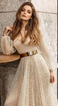 60 Gold Glam Wedding Dresses Inspiration 27