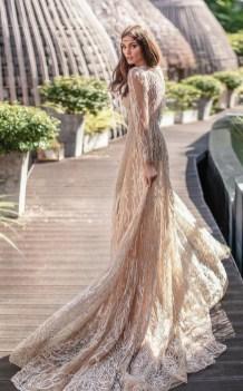 60 Gold Glam Wedding Dresses Inspiration 35
