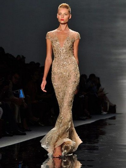 60 Gold Glam Wedding Dresses Inspiration 59