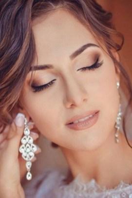 60 Inspiring Natural Bridal Look 26