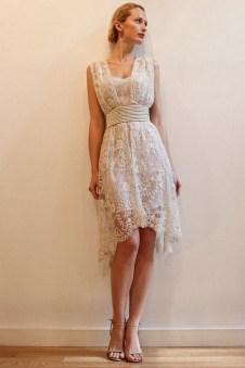 60 Simple Vintage Wedding Dress Ideas 09