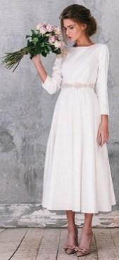 60 Simple Vintage Wedding Dress Ideas 22