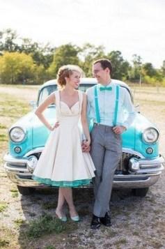 60 Simple Vintage Wedding Dress Ideas 29