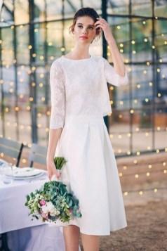 60 Simple Vintage Wedding Dress Ideas 30