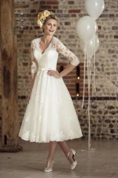 60 Simple Vintage Wedding Dress Ideas 59