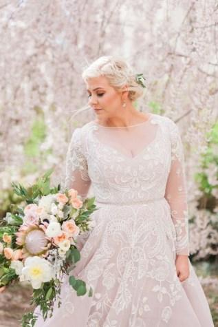 70 Elegant Ball Gown Wedding Dresses For Plus Size 06