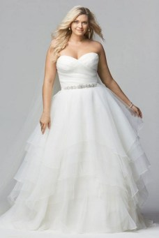 70 Elegant Ball Gown Wedding Dresses For Plus Size 09