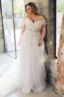 70 Elegant Ball Gown Wedding Dresses For Plus Size 15