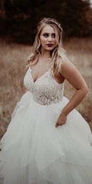70 Elegant Ball Gown Wedding Dresses For Plus Size 21