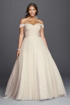 70 Elegant Ball Gown Wedding Dresses For Plus Size 28