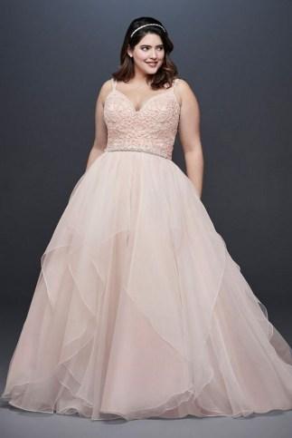 70 Elegant Ball Gown Wedding Dresses For Plus Size 33
