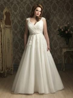 70 Elegant Ball Gown Wedding Dresses For Plus Size 40