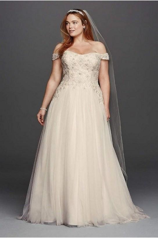 70 Elegant Ball Gown Wedding Dresses For Plus Size 46