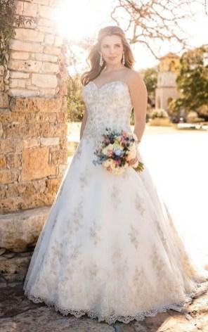 70 Elegant Ball Gown Wedding Dresses For Plus Size 51