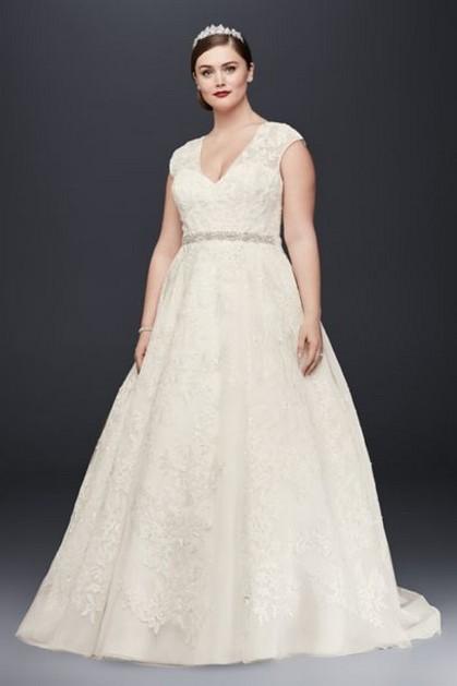 70 Elegant Ball Gown Wedding Dresses For Plus Size 59