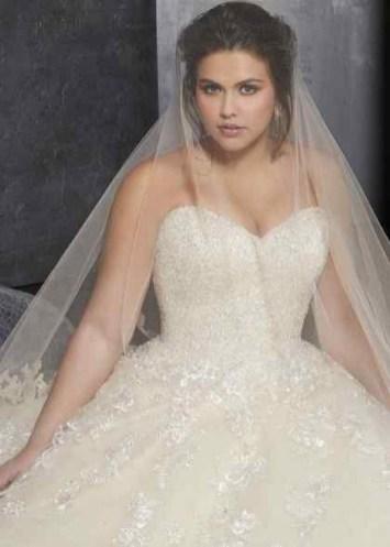 70 Elegant Ball Gown Wedding Dresses For Plus Size 64