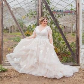 70 Elegant Ball Gown Wedding Dresses For Plus Size 68
