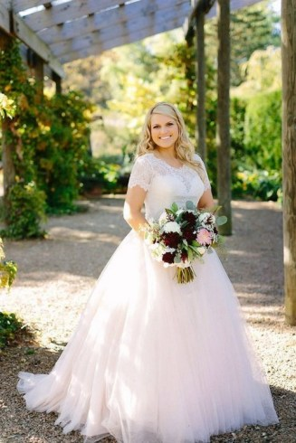 70 Elegant Ball Gown Wedding Dresses For Plus Size 76